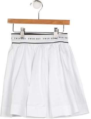 Twin-Set Twin.Set Girls' Printed A-Line Skirt