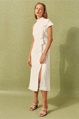 C/Meo Collective AUGMENT DRESS ivory