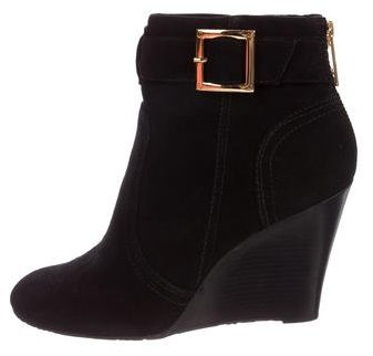 Tory Burch Tory Burch Deanna Wedge Ankle Boots