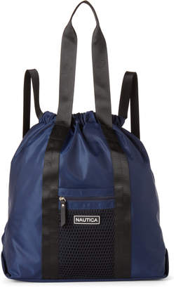 Nautica Indigo Nylon Convertible Backpack