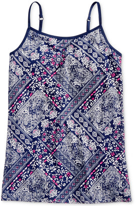 Epic Threads Bandana-Print Camisole Top, Big Girls (7-16), Only at Macy's $14 thestylecure.com