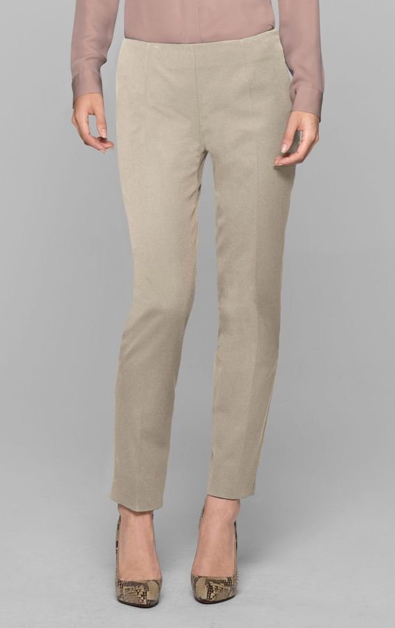 Theory Belisa Pant in Bistretch Cotton Blend