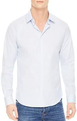 Sandro Seamless Stripes Slim Fit Button-Down Shirt