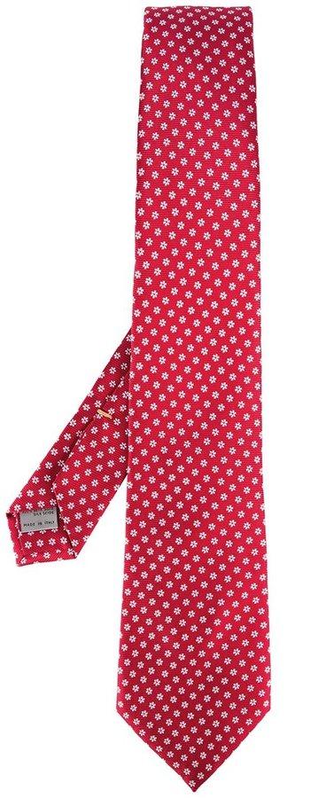 CanaliCanali floral pattern tie