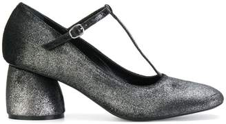 Strategia glitter-effect buckled pumps