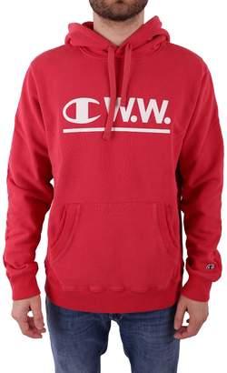 Wood Wood CHAMPION X Cotton Blend Sweatshirt