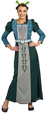 JCPenney Deluxe Princess Fiona Adult Costume