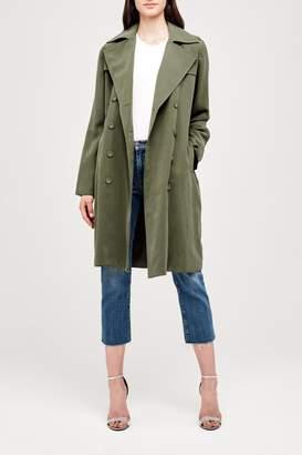 L'Agence Elise Trench Jacket