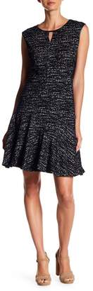 Nic+Zoe Tweed Jacquard Knit Dress