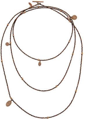 Brunello Cucinelli Multi-Strand Hematite Necklace