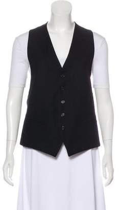 Ann Demeulemeester Wool Button-Up Vest