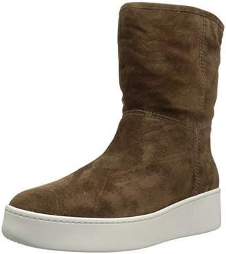 Via Spiga Women's Elona Shearling Sneaker Boot Fashion