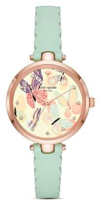 Kate Spade Holland Butterfly Graphic Watch, 34mm
