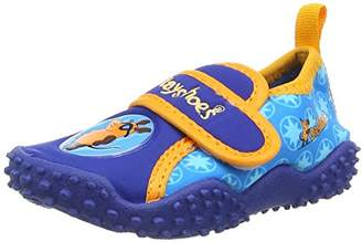 Playshoes DIE MAUS Unisex Kids' Uv-schutz Badeschuhe die Maus Water Shoes, Blue 7), 10.5 Child UK 28/29 EU