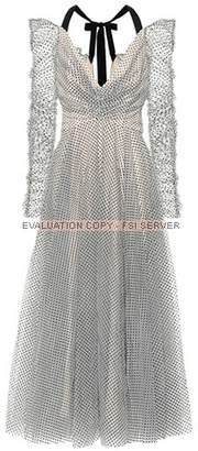 Zimmermann Tempest polka-dot tulle dress