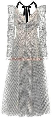 Zimmermann Tempest polka-dot tulle dress