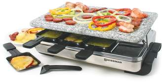 Swissmar Stelvio Raclette Party Grill with Granite Stone Top
