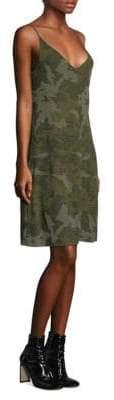 ATM Anthony Thomas Melillo Camouflage Tank Dress