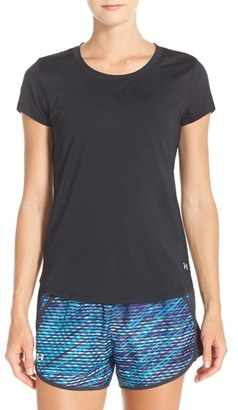 Women's Under Armour 'Fly By' Tee $34.99 thestylecure.com