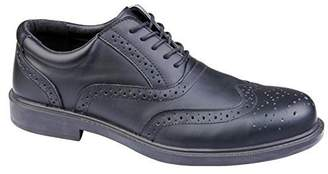 Richmond Deltaplus Men's Low Work Leather Safety Shoes US Size 9