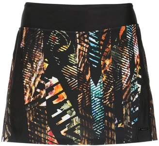 Savana Track & Field printed skirt