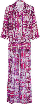 Prabal Gurung M'O Exclusive Tie-Dye Silk Pajama Set