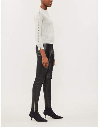 Zadig & Voltaire Ninon wool and cashmere cardigan