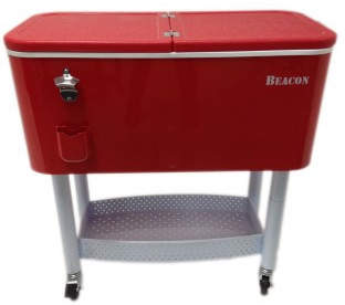 Beacon Garden Products 65 Qt. Rolling Party Cooler