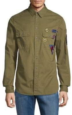 Zadig & Voltaire Sigmund Disarmy Cotton Button-Down Shirt