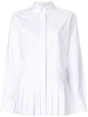 Thom Browne Pleated Bottom Oxford Shirt