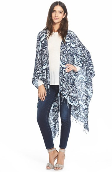 JULES SMITH 'Persian Paisley' Cape