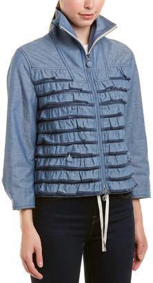 Moncler Frill Zipped Jacket