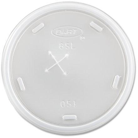 Dart Translucent Plastic Cold Cup Lids, 1000 count