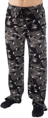 Novelty Licensed Batman Mens Jersey Pajama Pants
