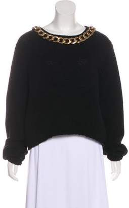 Thomas Wylde Chain Accented Sweater
