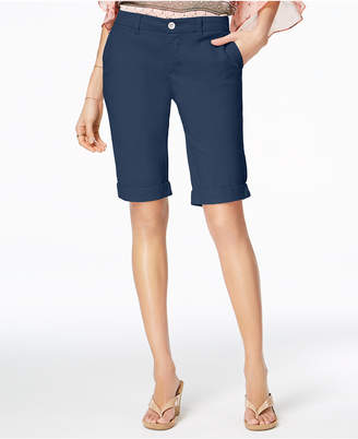 Style&Co. Style & Co Cuffed Bermuda Shorts, Created for Macy's
