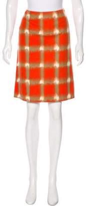 Tahari Knee-Length Wool Skirt