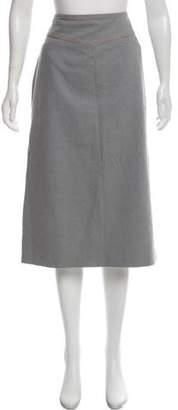 Dries Van Noten Midi Pencil Skirt