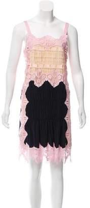 Chloé Gathered Silk Dress w/ Tags