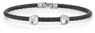 Alor Double Topaz Station Cable Bracelet