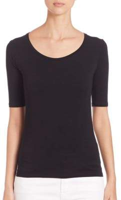 Majestic Filatures Soft Touch Scoop Tee