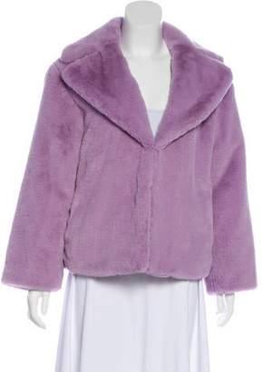 Alice + Olivia Faux Fur Long Sleeve Jacket w/ Tags