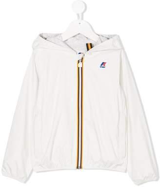 K Way Kids rainwear zip up jacket