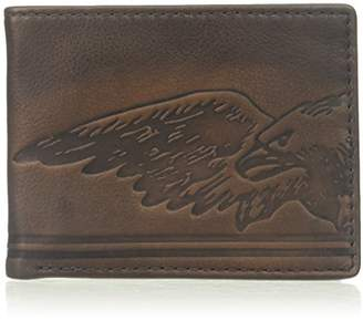 Relic Men's Tyler Embossed Traveler Leather Wallet