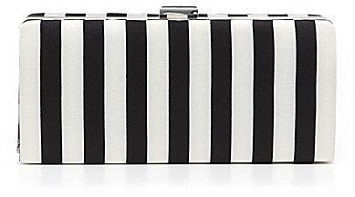 Kate Landry Stripe Box Clutch