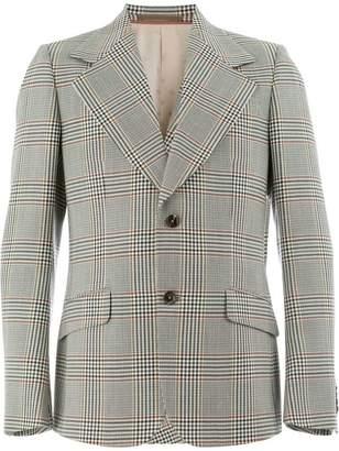 Gucci Heritage checked blazer