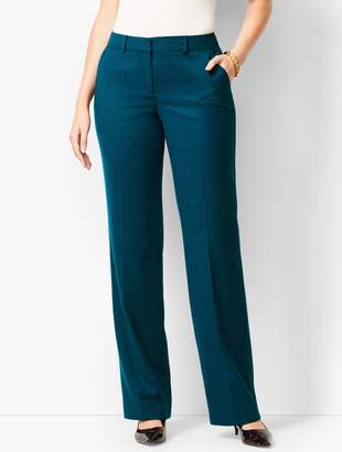 Talbots Luxe Italian Flannel Windsor Pants - Curvy Fit