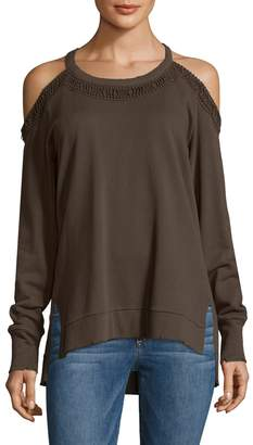 Joe's Jeans Women's Cold Shoulder Top