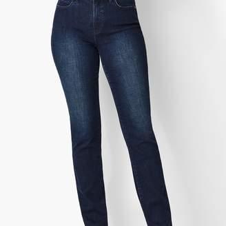 Talbots High-Waist Straight-Leg Jeans - Marco Wash/Curvy Fit