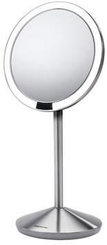 Simplehuman Sensor Makeup Mirror 5 Round, 10x Magnification, Stainless Steel